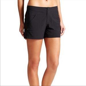 Athleta Black Costa Pocket Shorts size 6